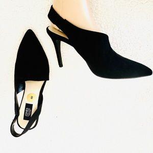 Brand New Jones New York Suede Chloe Heel SZ-8